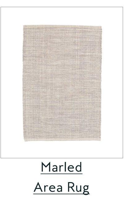 Marled Area Rug