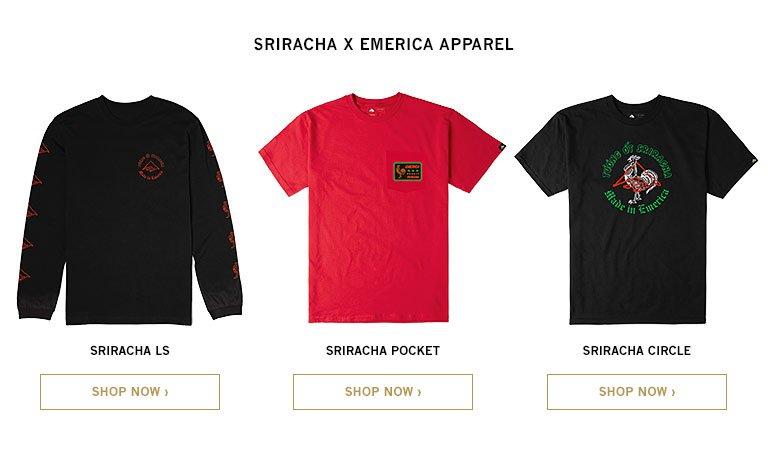 Sriracha x Emerica Apparel