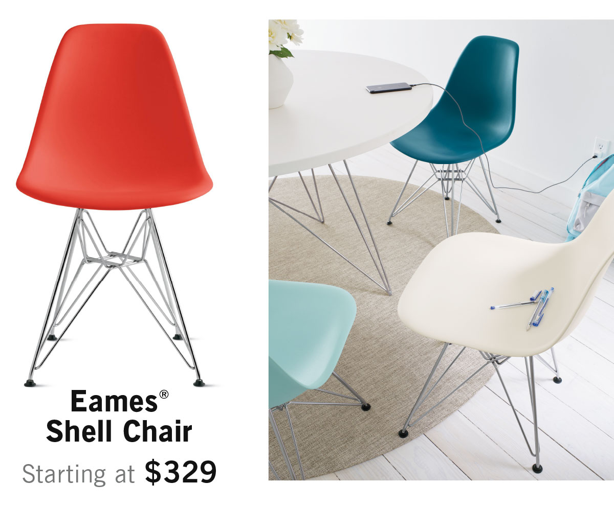 Eames Shell Chair Shop Now