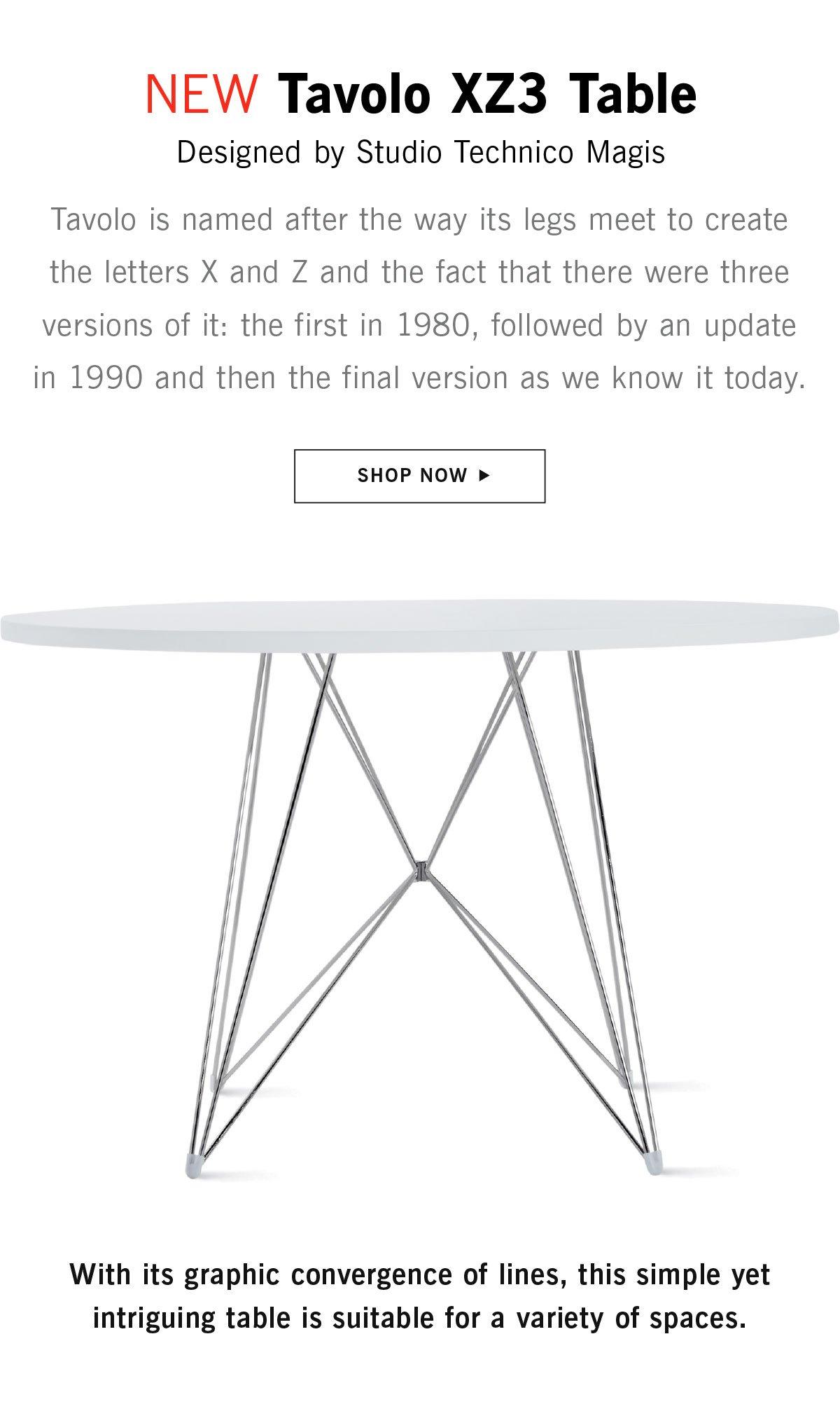 New Tavolo Table