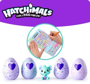 Hatchimals Colleggtibles 4 Pack and Bonus