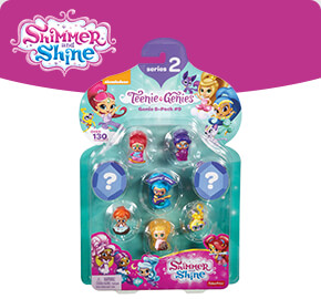 Shimmer and Shine Teenie Genies 8-Pack Assortment