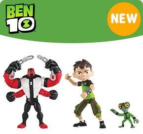 Ben 10 Action Figures