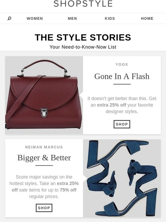 352b5a32245 ShopStyle  Must-Shop Sales At Yoox