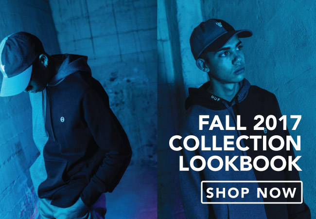 View The Huf Fall 2017 Collection Lookbook
