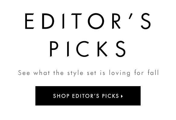 Shop editors picks