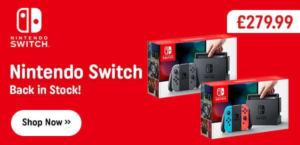 Nintendo Switch - Back in Stock