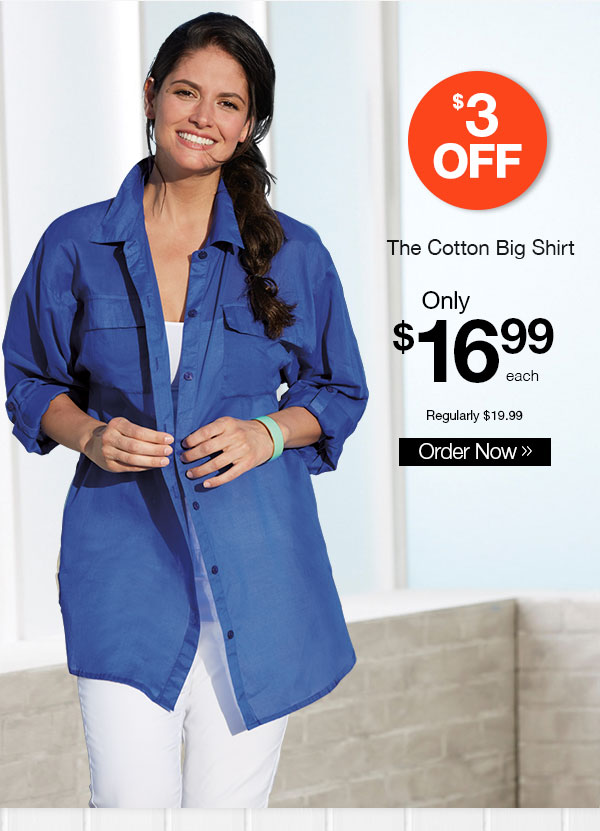 The Cotton Big Shirt