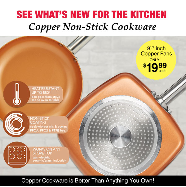 Copper Cookware!