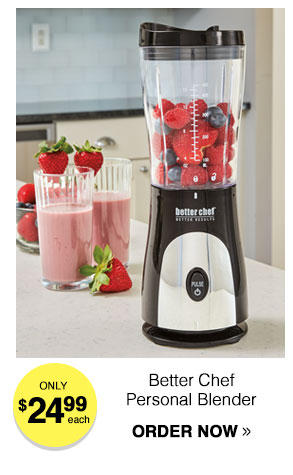 Better Chef Personal Blender