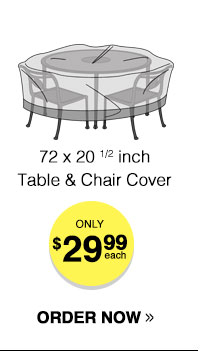 Outdoor Table & Chairs Cover
