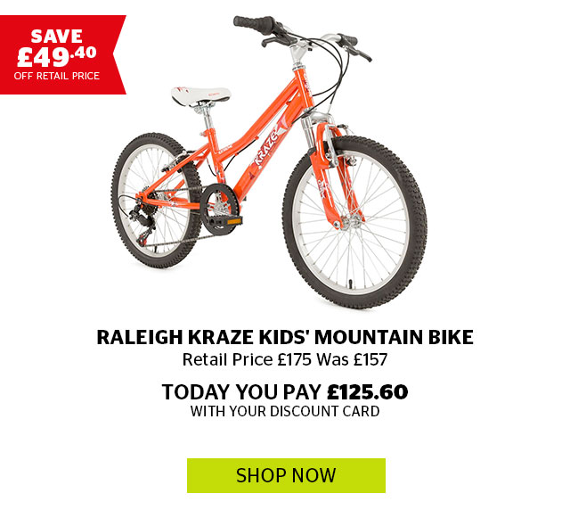Raleigh Kraze Kids' Mountain Bike