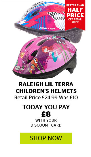 Raleigh Lil Terra Children's Helmets