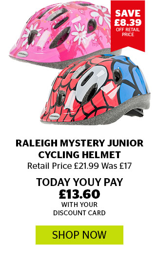 Raleigh Mystery Junior Cycling Helmet