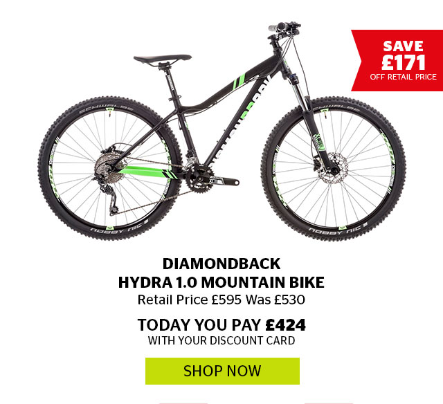 Diamondback Hydra 1.0 Mountain Bike