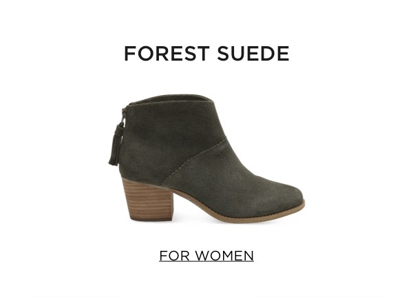 Forest Suede - For Women