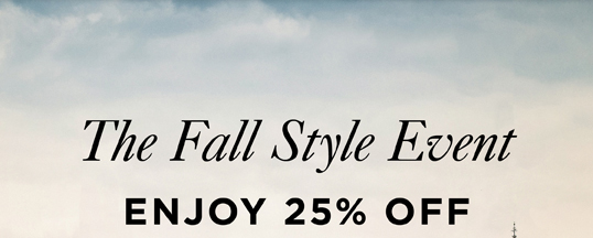 The Fall Style Event