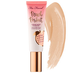 Too Faced - Peach Perfect Comfort Matte Foundation – Peaches and Cream Collection