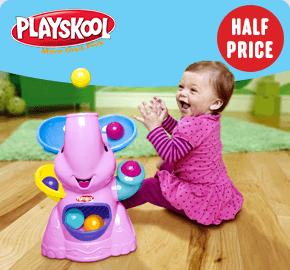Playskool Elefun Poppin Park Pink Ball Popper