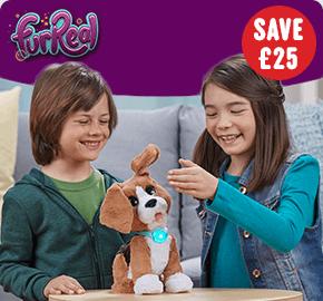 Fur Real Chatty Charlie the Barkin' Beagle