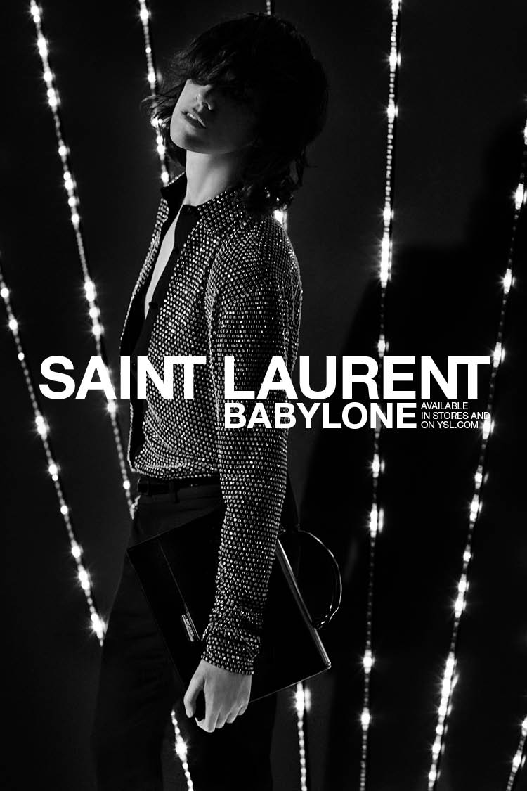 Saint Laurent Babylone Bag / In Stores and on ysl.com