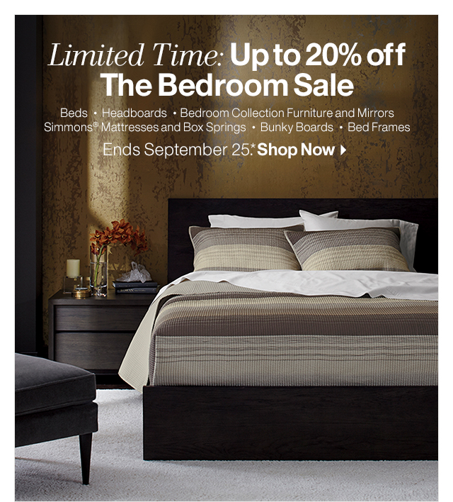 Crate and barrel on sale bedroom furniture milled - Crate barrel bedroom furniture ...
