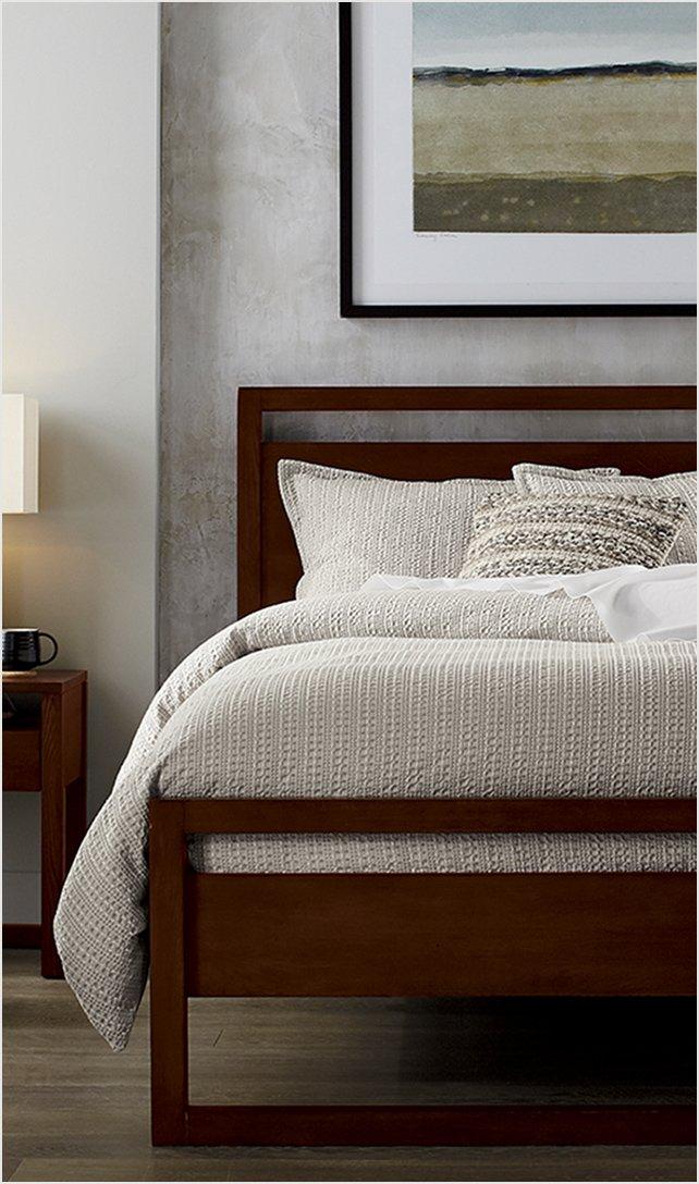 Crate And Barrel On Sale Bedroom Furniture Milled