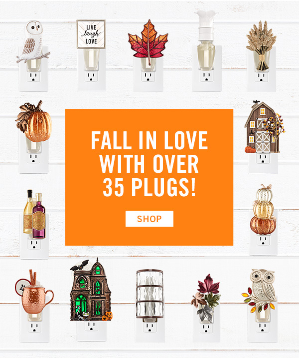 Fall in love with our 35 plugs! SHOP