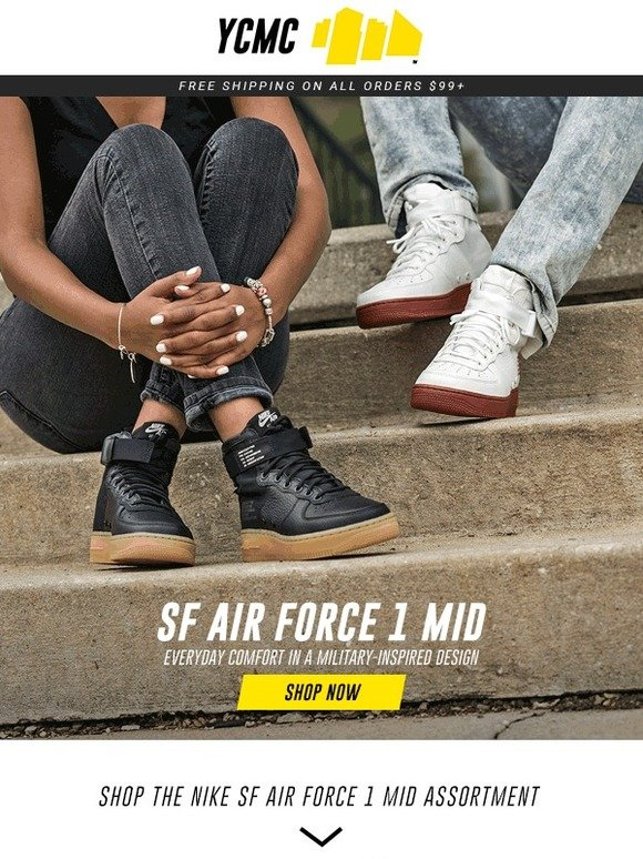 18651f4791a2a Your City My City  His   Hers Nike SF Air Force 1 Mid s Just Dropped ...