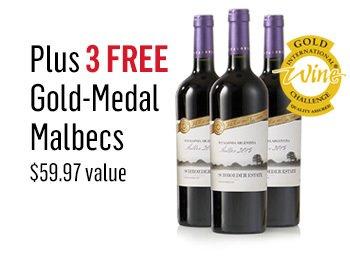 3 Free Bottles