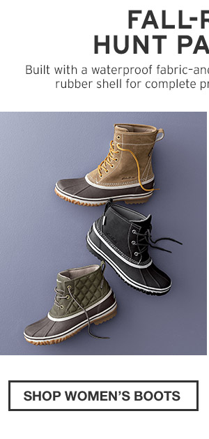FALL-READY HUNT PAC BOOTS | SHOP WOMEN'S BOOTS