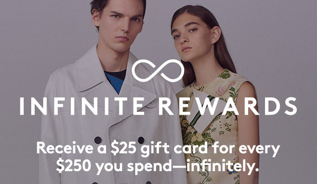 Don't miss out on infinite rewards. Shop now.