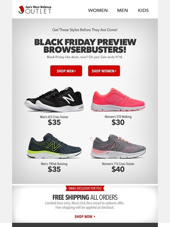 Joe\u0027s New Balance Outlet: Don\u0027t Miss This l Black Friday Preview Exclusive  (ends tomorrow) | Milled