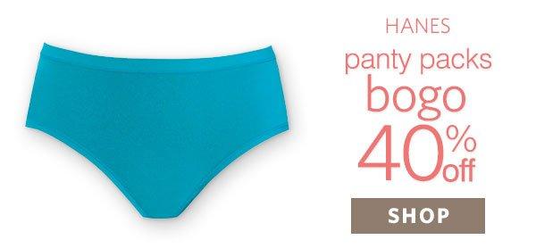 Shop Hanes Panties