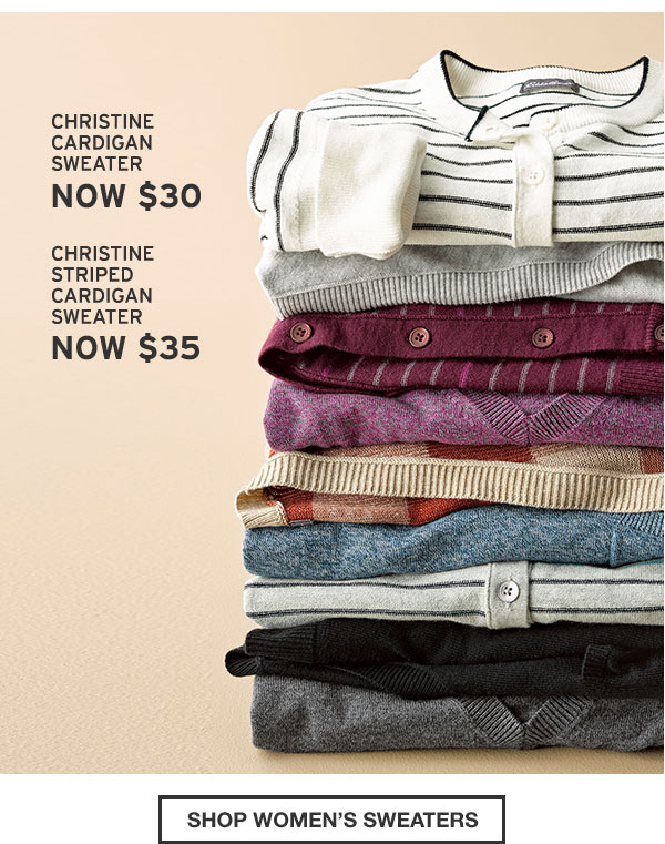50% OFF SELECT CHRISTINE SWEATERS | SHOP WOMEN'S SWEATERS