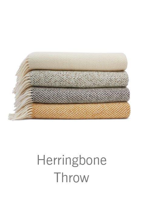 Herringbone Throw