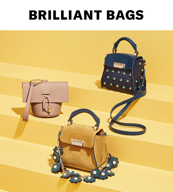 Brilliant Bags - Amp up your look with fun fall carryalls from ZAC Zac Posen. Shop now.