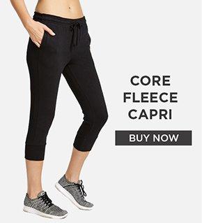 Core Fleece Capri