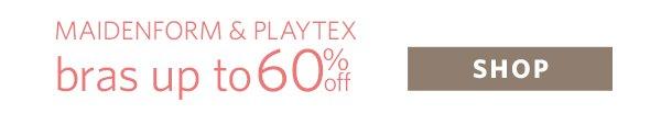Shop Playtex & Maidenform Bra Sale
