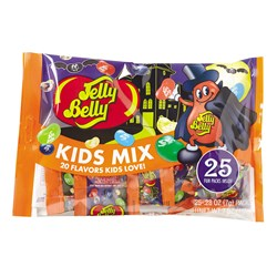 Halloween Kids Mix - 25 count 0.28 oz bags
