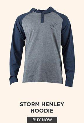 Storm Henley Hoodie