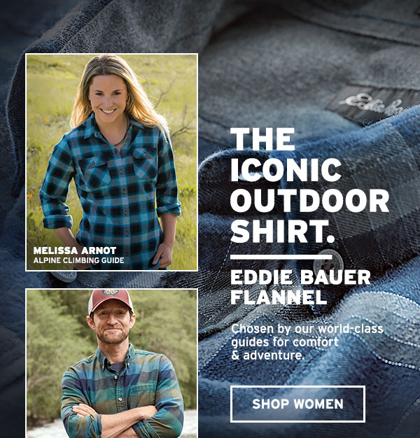 THE ICONIC OUTDOOR SHIRT | SHOP WOMEN