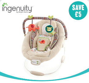 Ingenuity Cozy Kingdom Cradling Baby Bouncer