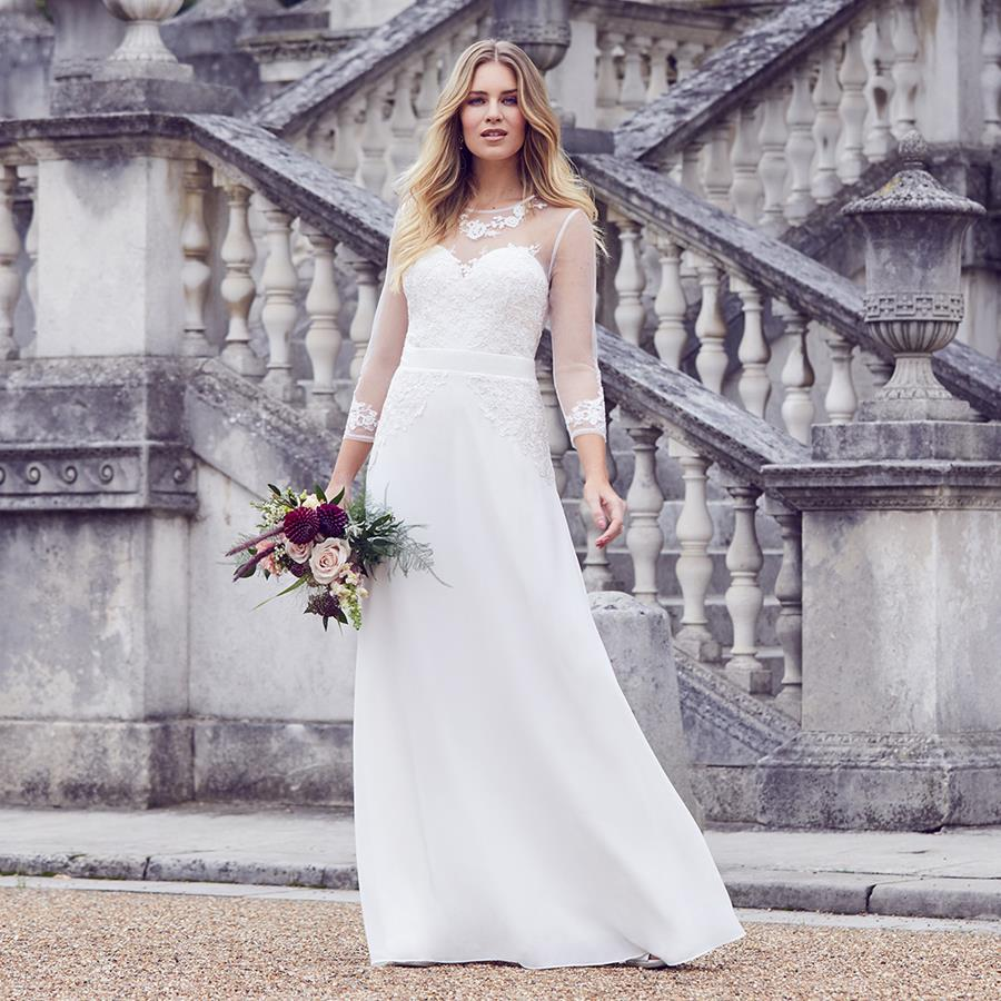 ac12c7be7417 Well-loved high street favourite, Dorothy Perkins has introduced a brand new  collection of bridal gowns. Wedding dresses at unbelievably affordable  prices, ...