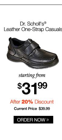 Dr. Scholl's Leather One-Strap Casuals