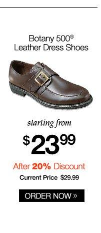 Botany 500 Leather Dress Shoes