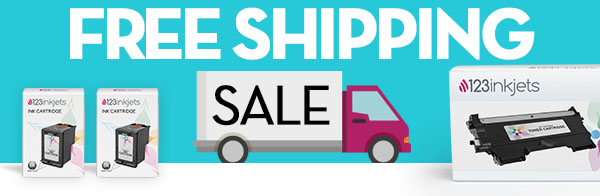 Free Shipping and 17% Off Ink & Toner Use Coupon Code: 123FREE17