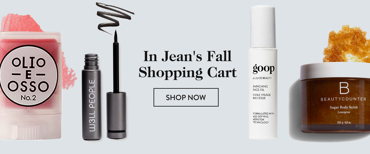 In Jean's Fall Shopping Cart.