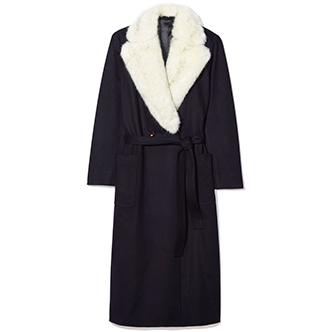 Faux Fur Robe Coat LodenTal $1,050