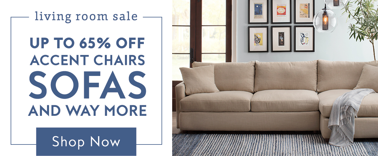 Living Room Sale Banner